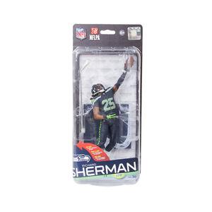 Details about McFarlane Sportspicks NFL 36 RICHARD SHERMAN action figure Seattle Seahawks NIB