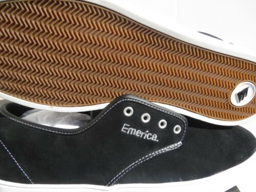 "Black suede with natural bum rubber cupsole Emerica /""Laced/"" Skateboarding shoes"