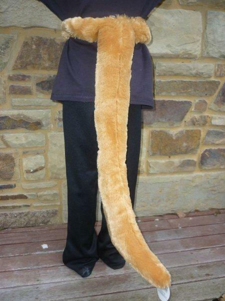 NEW Plush Soft 3D KANGAROO TAIL - Dress ups Costume Halloween Book Week