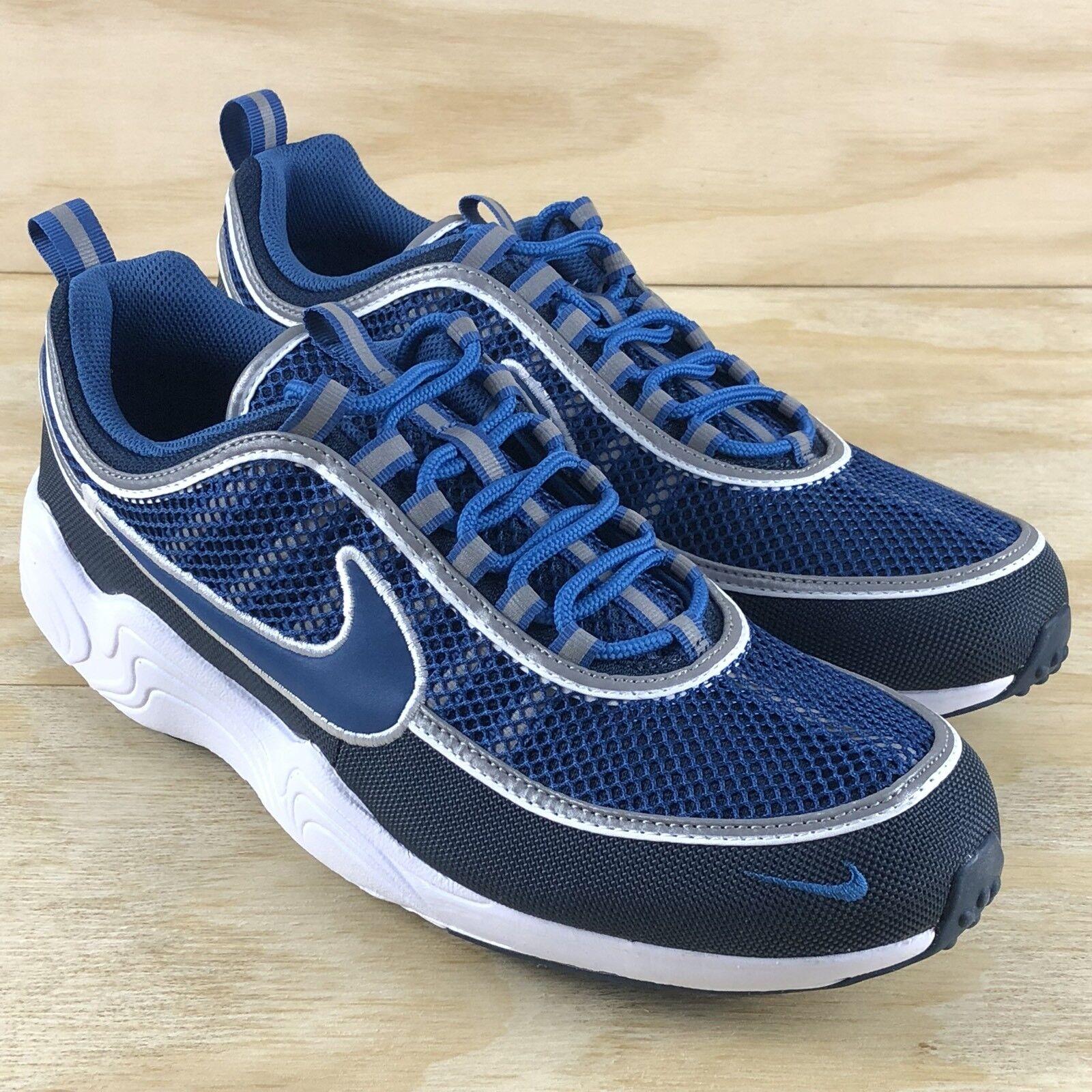 Nike Air Zoom Spiridon 16 Armorized Navy Blue White Mens Shoes (926955-400) Size