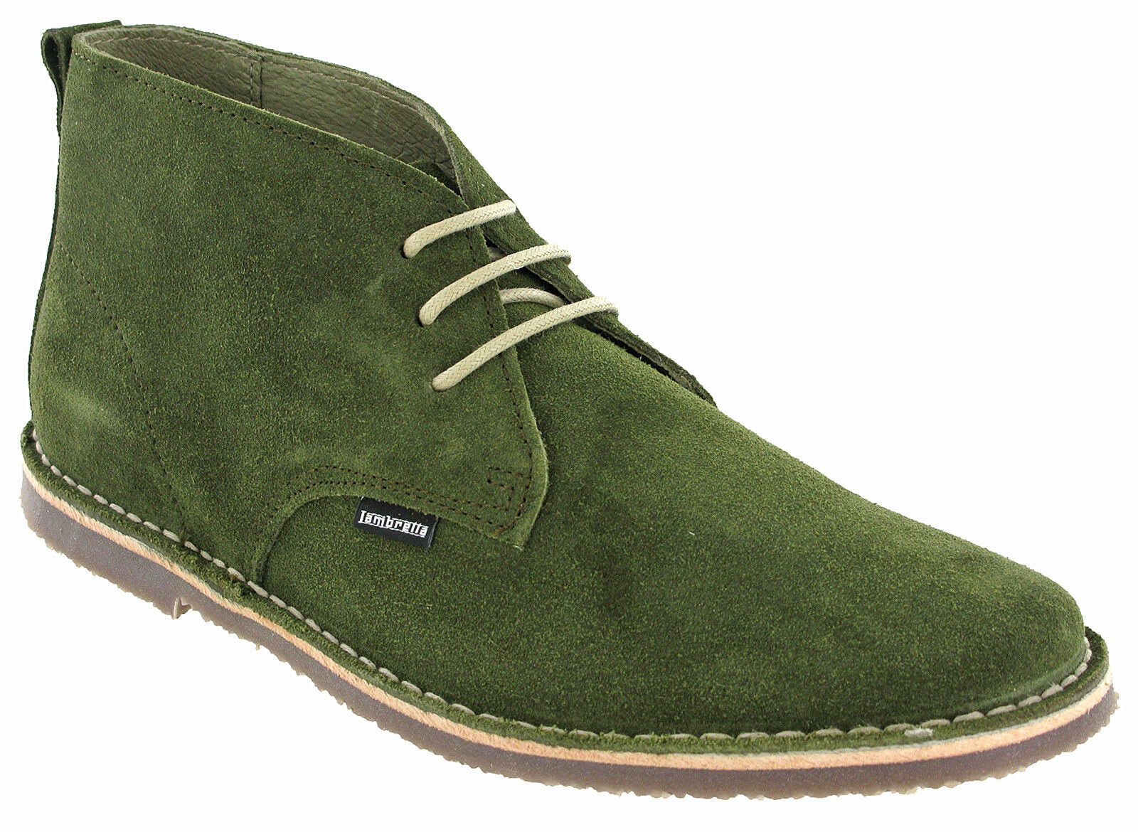 Lambretta Desert Boots Suede Mens Flat Selecter UK Padded MOD Round Toe UK Selecter 7-12 745ea5