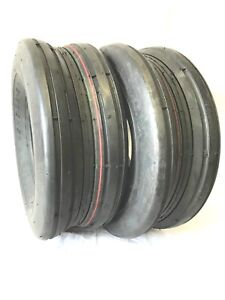 TWO-15X6-00-6-15-6-00x6-HEAVY-DUTY-Lawnmower-Rib-Tread-4-ply-Tires