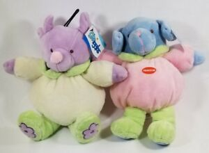Grriggles-Puppy-Buddies-plush-squeaker-dog-or-mouse-dog-toys-toy-B8
