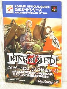 Array - details about ring of red official guide ps2 book nt80  rh   ebay com