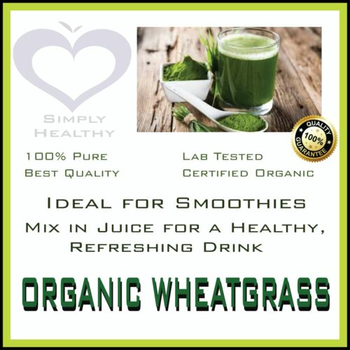 WHEAT GRASS POWDER ORGANIC CERTIFIED 500g BEST AVAILABLE PREMIUM QUALITY