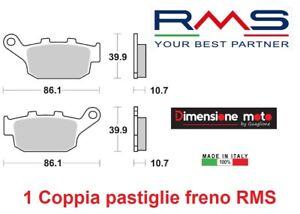 2610-1-Coppia-Pastiglie-Freno-Posteriori-RMS-per-YAMAHA-XJ6-600-dal-2009