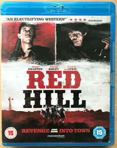 Rojo-Hil-Blu-Ray-2010-Australiano-Crimen-Suspense-Pelicula-W-Ryan-Kwanten-Usado