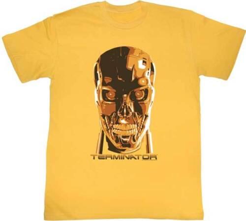 The Terminator 80/'s Movie Creepy Face Adult T Shirt