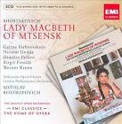 Shostakovich: Lady Macbeth ECD (CD, Oct-2009, 3 Discs, EMI Classics)