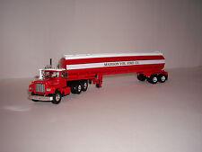 FIRST GEAR 1/64 MADISON VOL. FIRE CO. MACK R MODELW/42' WATER TANK TRAILER DCP