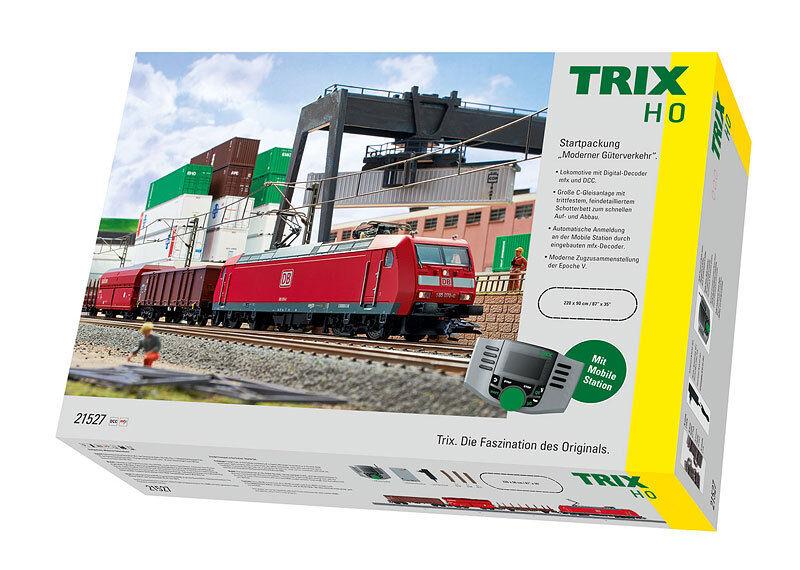 Trix 21527 start envase  moderno transporte de mercancías nuevas mercancías