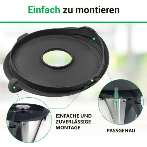 Mixtopfdeckel Mixtopf kompatibel mit Vorwerk Thermomix TM31 Küchenmaschine