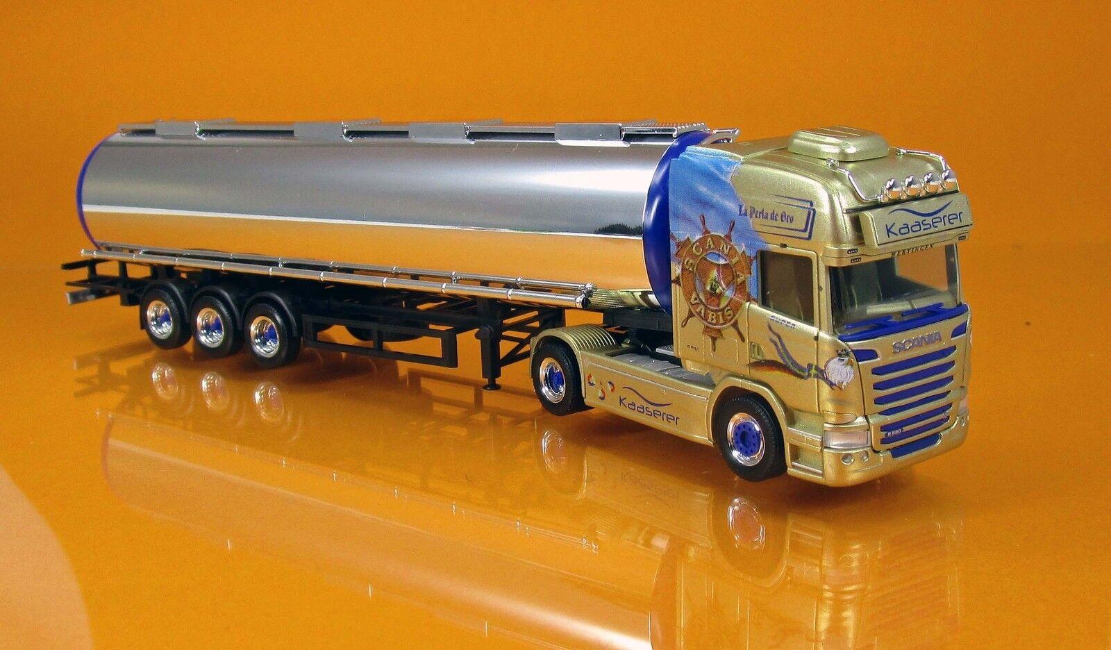 Herpa 306508 Scania R 13 Chromtank camions kaaserer élimination élimination élimination Scale 1 87 Nouveau neuf dans sa boîte a19531