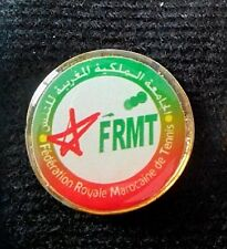 MOROCCO OLYMPIC TENNIS TEAM FEDERATION ROYALE MAROCAINE OF TENNIS PIN