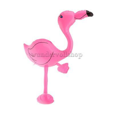 Aufblasbar Flamingo Schwimmen Spielzeug für Kinder Party Deko Hawaii 65cm