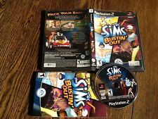 Sims Bustin' Out (Sony PlayStation 2, 2003) USED PS2 VIDEO GAME FREE US SHIPPING