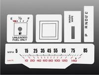 1978-1980 Oldsmobile Cutlass Malibu Dash Cluster White Face Gauges 78-80