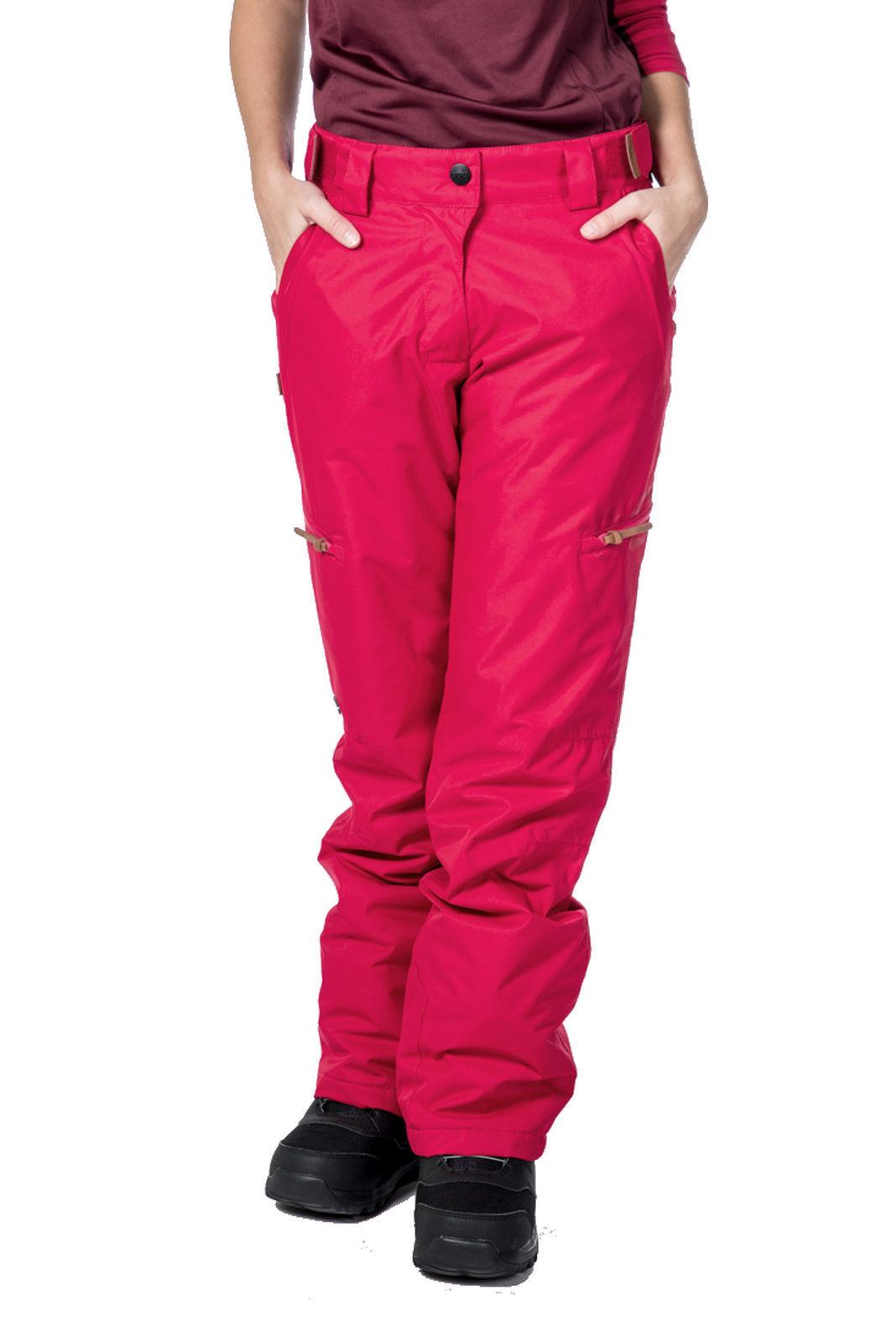 Csnrd Equí Mujer - Pantalones de Snowboard Kylie Pantalones Fucsia
