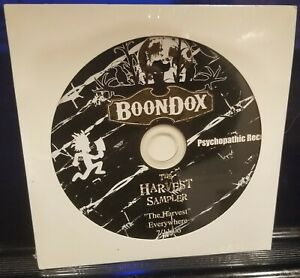 Boondox-The-Harvest-Sampler-CD-SEALED-twiztid-insane-clown-posse-amb-icp-gotj