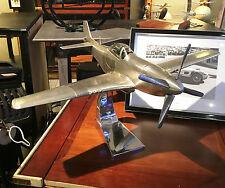 """NEU""Flugzeugmodell North American P51 Mustang, Handarbeitsmodell aus Metall"