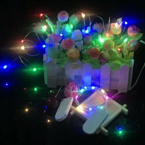 Colorful Light LED Fairy String Lights String Lamp Fashionable Decorative 2M