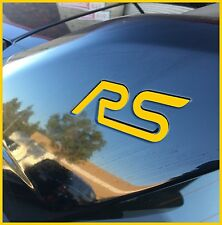 Ford Focus RS reflective gold inlay decal for wing (2 per order)