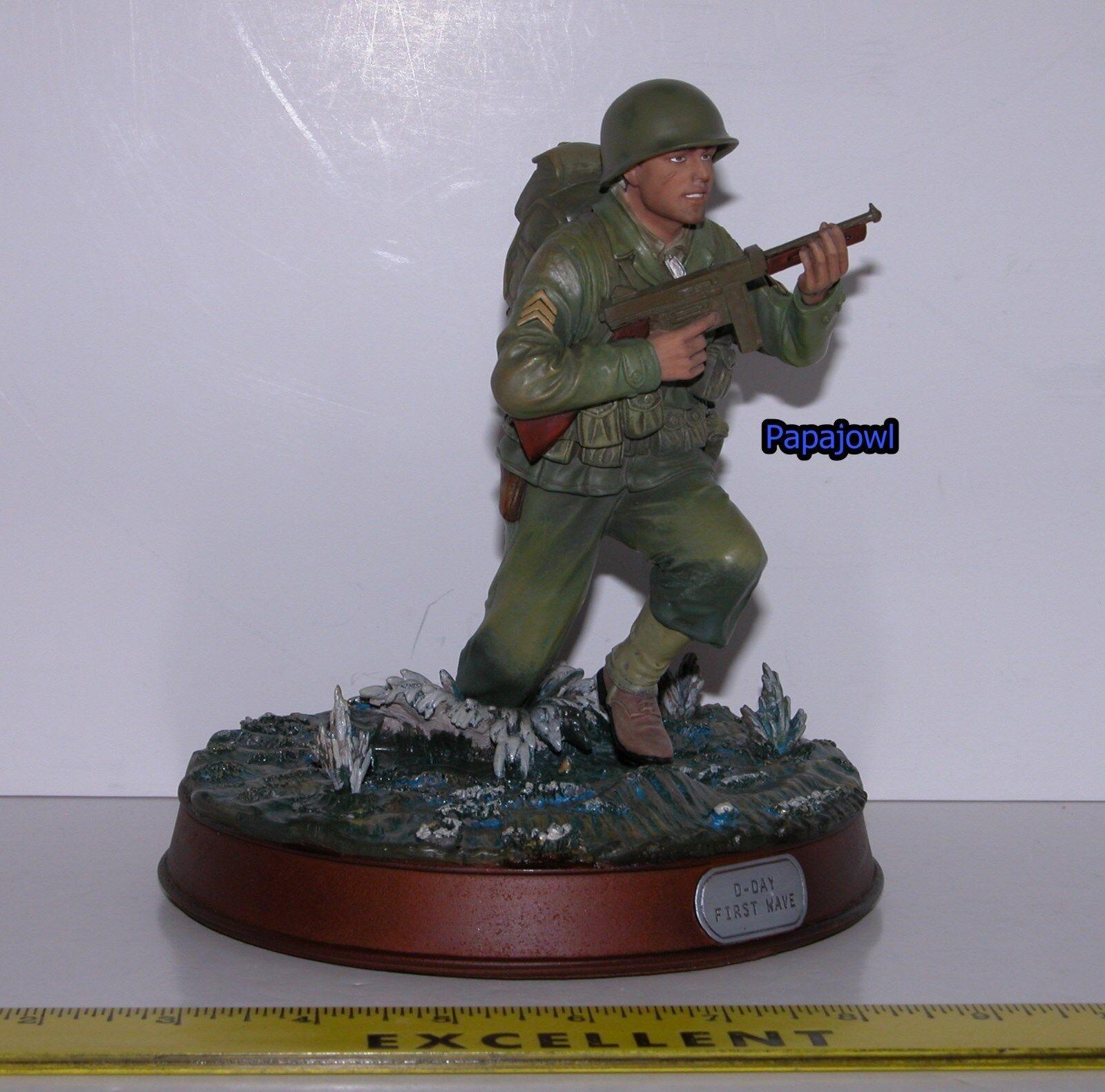 GI Joe Unique Display Piece Military Metal Series D-Day First Wave Hasbro 2000