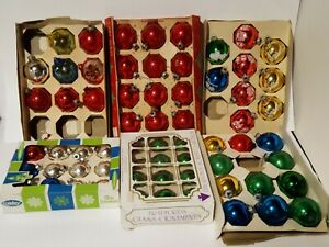 Lot-Of-Vintage-Glass-Christmas-Ornaments-Coby-Bradford-Noelle-amp-More
