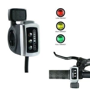 36V-48V-Thumb-Throttle-w-Power-Indicator-For-Scooter-eBike-Speed-Controller-Kit