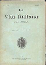 La vita Italiana 1 7 1897 Romagnoli, Albini, S. De Sanctis