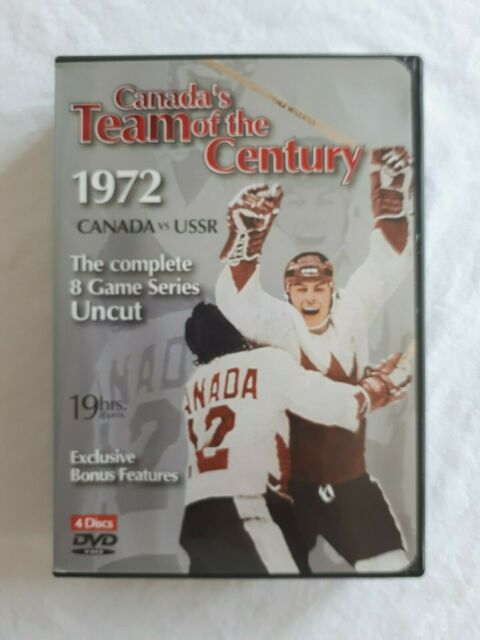 Canada's Team of the Century 1972 Canada vs USSR complete 8 Game 4-Disc 19 hours