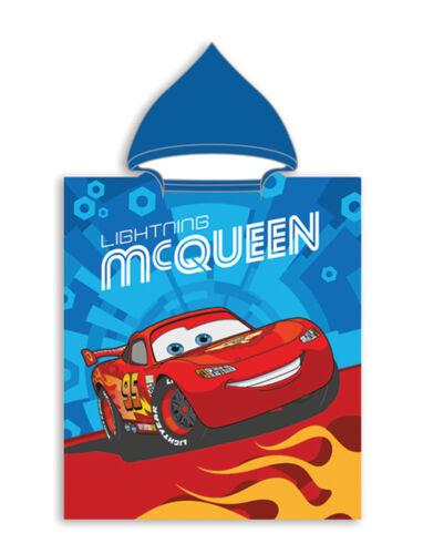 Poncho Strandtuch mit Kaputze Frozen Princess Minnie Cars Spiderman 50 x 115 cm