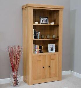 Image Is Loading Houston Solid Oak Furniture Living Room Office Cupboard