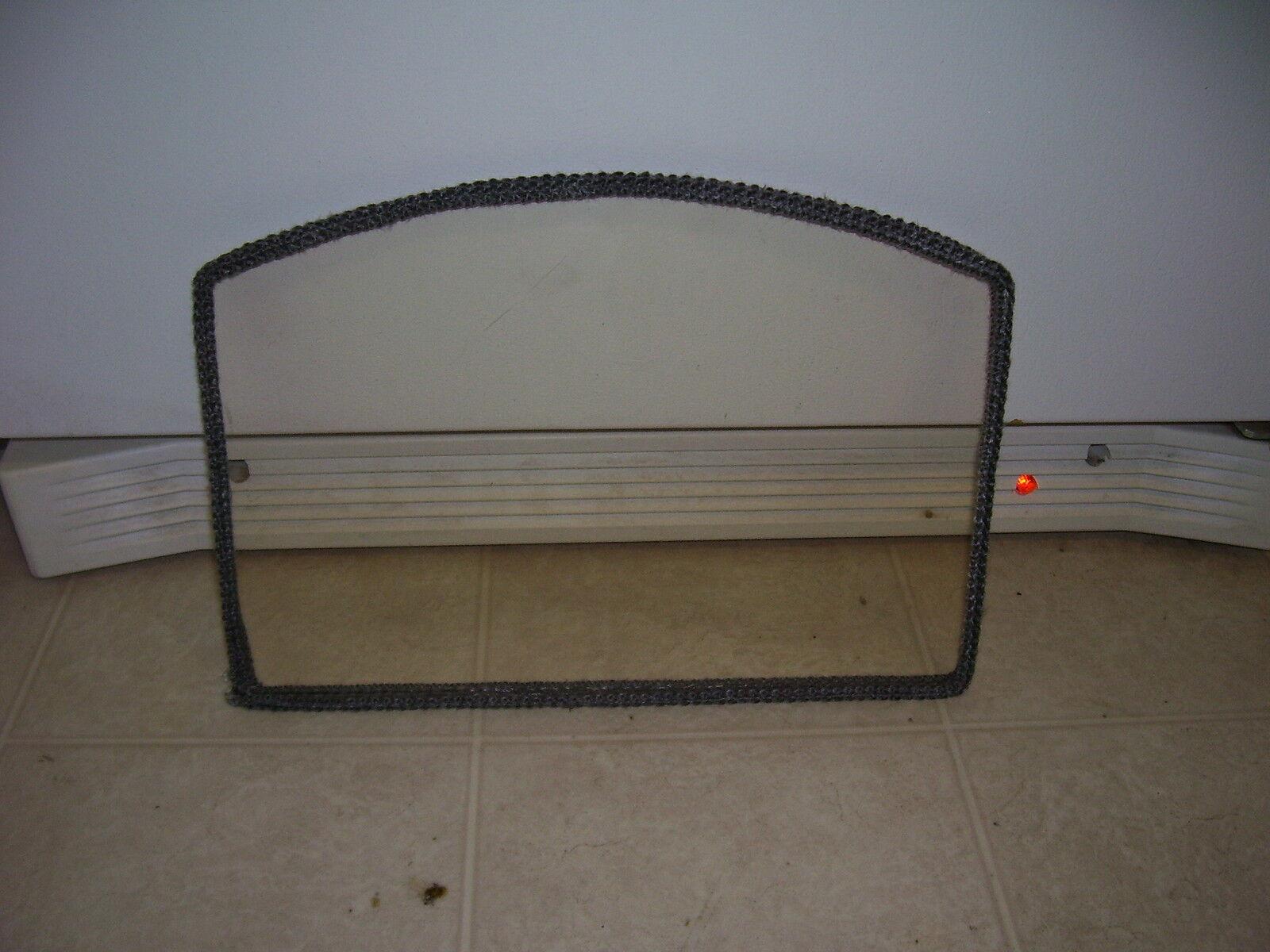 Drolet Myraid  stove door glass screen fireplace pellet neoceram + gasket