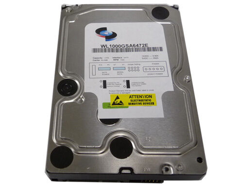 "Enterprise Grade SATA 3.0Gb//s 3.5/"" Hard Drive New 1TB 7200RPM 64MB Cache"