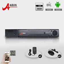 HDMI 8CH 960H Realtime network Audio DVR for Color CCTV Security Wired Camera