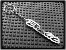KEYRING for SUZUKI GSF BANDIT - STAINLESS STEEL - HAND MADE - CHAIN LOOP FOB