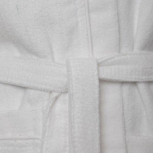 Enfants Garçons Filles 100/% Coton Velours Terry éponge Peignoir à Capuche