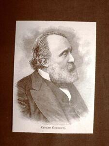 Cesare Correnti Patriota Milano, 3 gennaio 1815 – Lesa, 4 ottobre 1888