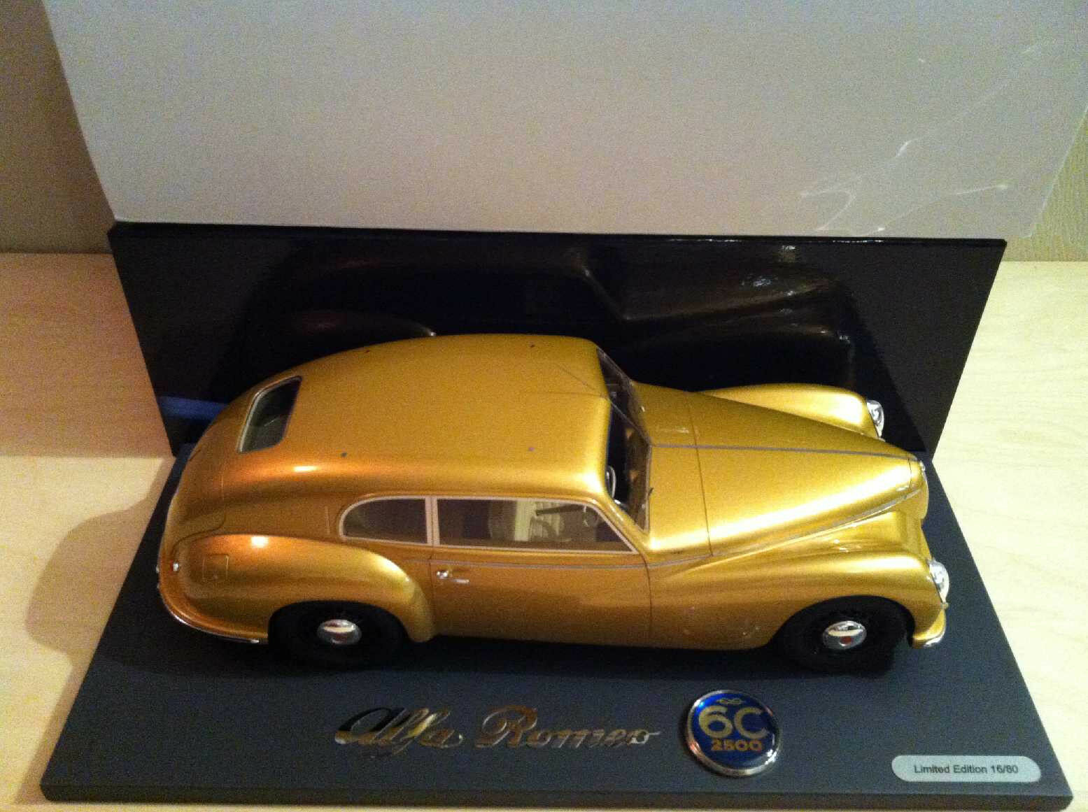 Alfa Romeo 6C 2500 SS Freccia D'or or 1949 BLM1802B BBR 1 18