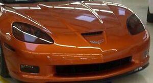 2005-2013 Corvette C6 vinyl smoked overlay kit tints HEADLIGHT (6 piece kit)