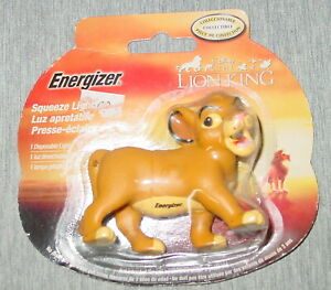 Simba-Squeeze-Light-Disney-Energizer-The-Lion-King-Sealed-New-b10