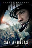 San Andreas Movie Poster, Dwayne Johnson Poster (b) The Rock Poster