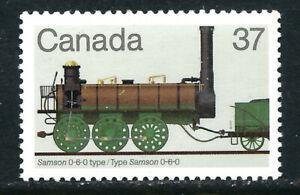 Canada #1001(1) 1983 37 cent LOCOMOTIVES SAMSON 0-6-0 Type MNH