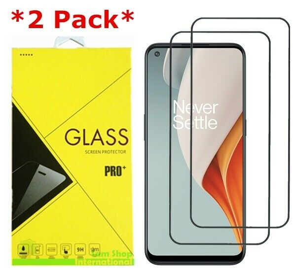 2 Pack Premium Real Tempered Glass Screen Protector Guard For Oneplus Nord N100