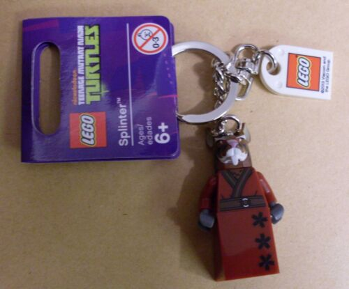 LEGO turtles personnage-splinter-porte clé Key Chain NEUF