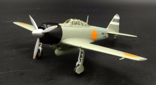 1//72 JAPAN 1942 A6M3 ZERO Aircraft Plane WWII Diecast Military Model Collection