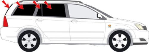 Sonnenschutz-Auto Scheiben-Tönung-tönen  Sonnenblenden Toyota Corolla Kombi E12