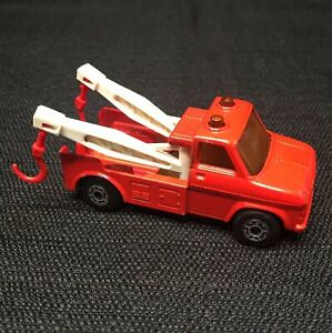 MATCHBOX-Superfast-No-61-WRECK-TRUCK-Made-in-England-1978-Lesney-w-BOTH-HOOKS