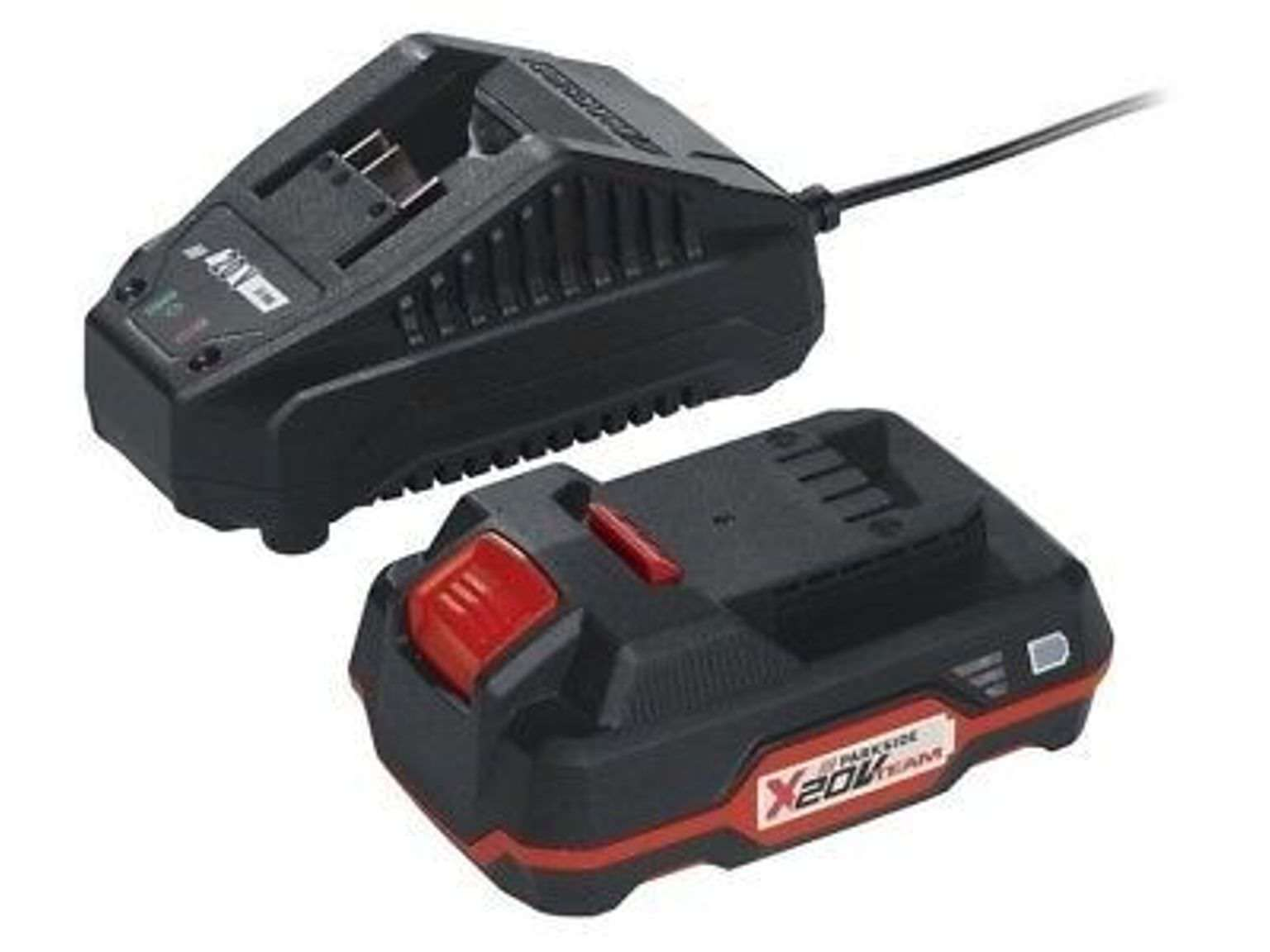 PARKSIDE Cordless 20v Battery PAP 20 A1 + Charger PLG 20 A1 X20v Compatible Tool